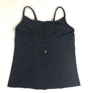LULULEMON Cami Style Tank Top  Black Size 10